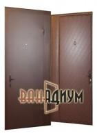 Дверь тамбурная ( покрас + винилискожа) дт 9.