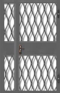Дверь решетчатая ДР-05