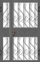 Дверь решетчатая ДР-06