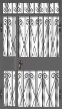 Дверь решетчатая ДР-09
