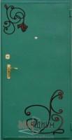 Дверь с элементом ковки К12