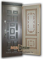 Дверь МДФ+MДФ5 (с багетом)