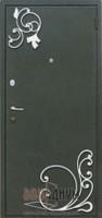 Дверь с элементом ковки К16