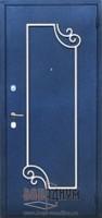Дверь с элементом ковки К19