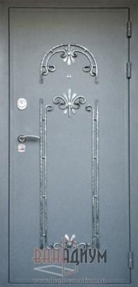 Дверь с элементом ковки К20