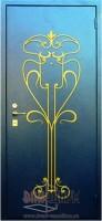 Дверь с элементом ковки К23