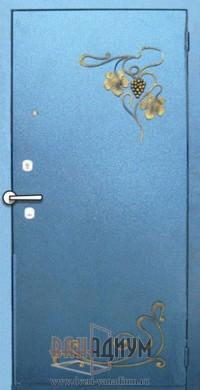 Дверь с элементом ковки К24