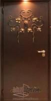 Дверь с элементом ковки К25