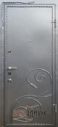 Дверь с элементом ковки К2