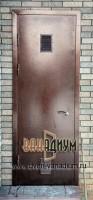 Дверь техническая в котельную + жалюзи Т15