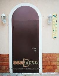 Дверь арочная с термонапылением 10