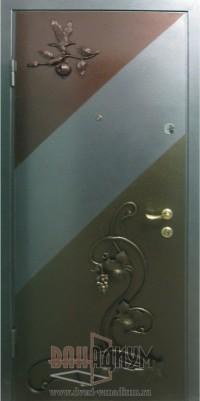 Дверь с элементом ковки К7