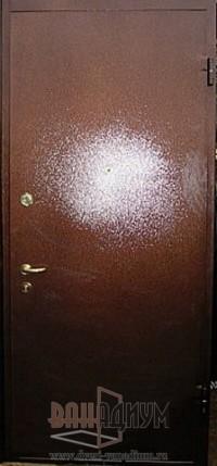 Двери с порошковым напылением ДП2 (двойной метал)