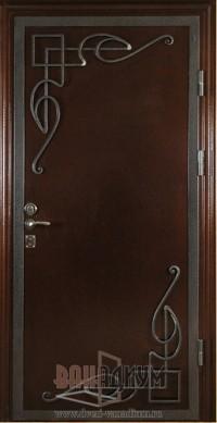 Дверь с элементом ковки К9