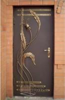 Дверь с элементом ковки К10