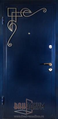 Дверь с элементом ковки К11
