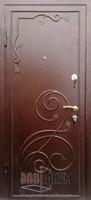 Дверь с элементом ковки К17