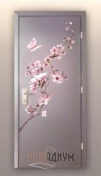 Двери с аэрографией ДА12