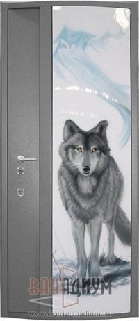 Двери с аэрографией ДА15