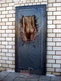 Двери с аэрографией ДА24