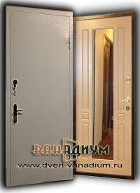 Дверь с зеркалом ДС 15