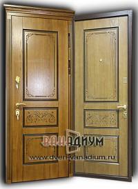 Дверь МДФ+МДФ19