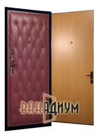 Дверь входная винил + ламинат ДЛ1