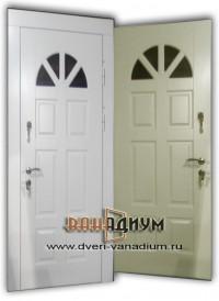 Металлическая дверь с стеклопакетом. ДС.36.