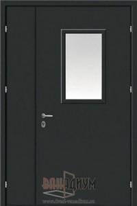Дверь противопожарная с окном ДП7