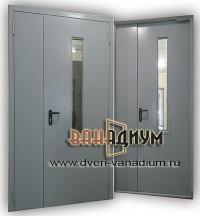 дверь тамбурная с добором и стеклом дт 21.