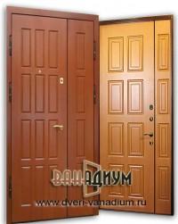 Дверь двустворчатая МДФ+МДФ20
