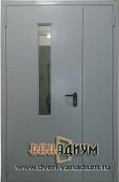 Дверь противопожарная с окном ДП4
