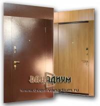 Дверь тамбурная (перегородка с ламинатом) дт 15.