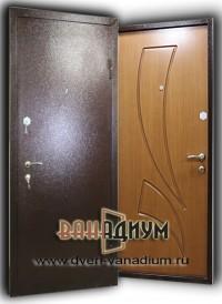 Двери с порошковым напылением и МДФ. ДП15.