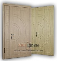 дверь тамбурная МДФ+МДФ. дт 23.