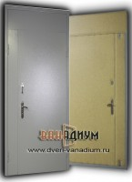 Дверь эконом с добороми.