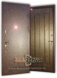Дверь с порошковым напылением + МДФ ДП12