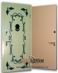 Дверь с элементом ковки К6