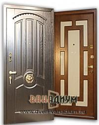 Элитная дверь МДФ со львом 06.
