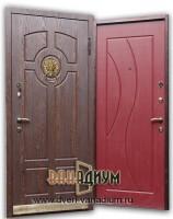 Дверь со львом МДФ14