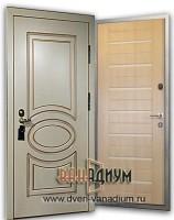 Элитная дверь МДФ+МДФ 05 (с дэкором)