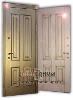 Дверь с багетом МДФ+МДФ 28.