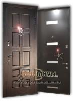 Элитная дверь со львом и декор.ручкой 10.