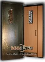 Дверь тамбурная с окошком ДТ4