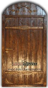 Дверь арочная 03