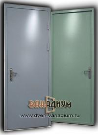 Дверь эконом (гнутая металлоконструкция).