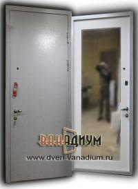 Двери с порошковым напылением и МДФ. ДП16.