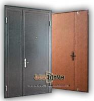 Двери с порошковым напылением двустворчатые ДП11