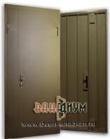 Стальная дверь эконом (скилет)