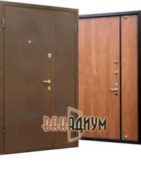 Дверь тамбурная порошок ламинат ДТ.